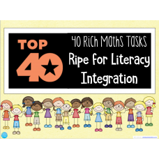 40 Rich Maths Tasks Ripe for Integration