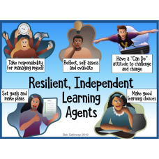 Resilient, Independent Learning Agents - Agency Rubric for Schools