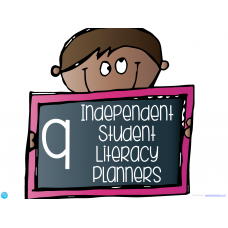 9 Independent Student Literacy Planners