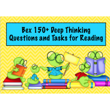 150+ Deep Thinking Questions and Tasks for Reading