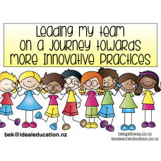 Leading my team towards more innovative practices - COURSE NOTES
