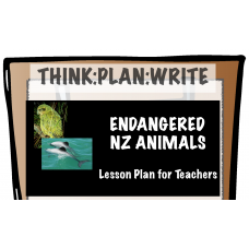 Endangered NZ Animals - Writing to Report