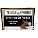 Protecting Our Animals - Writing to Argue